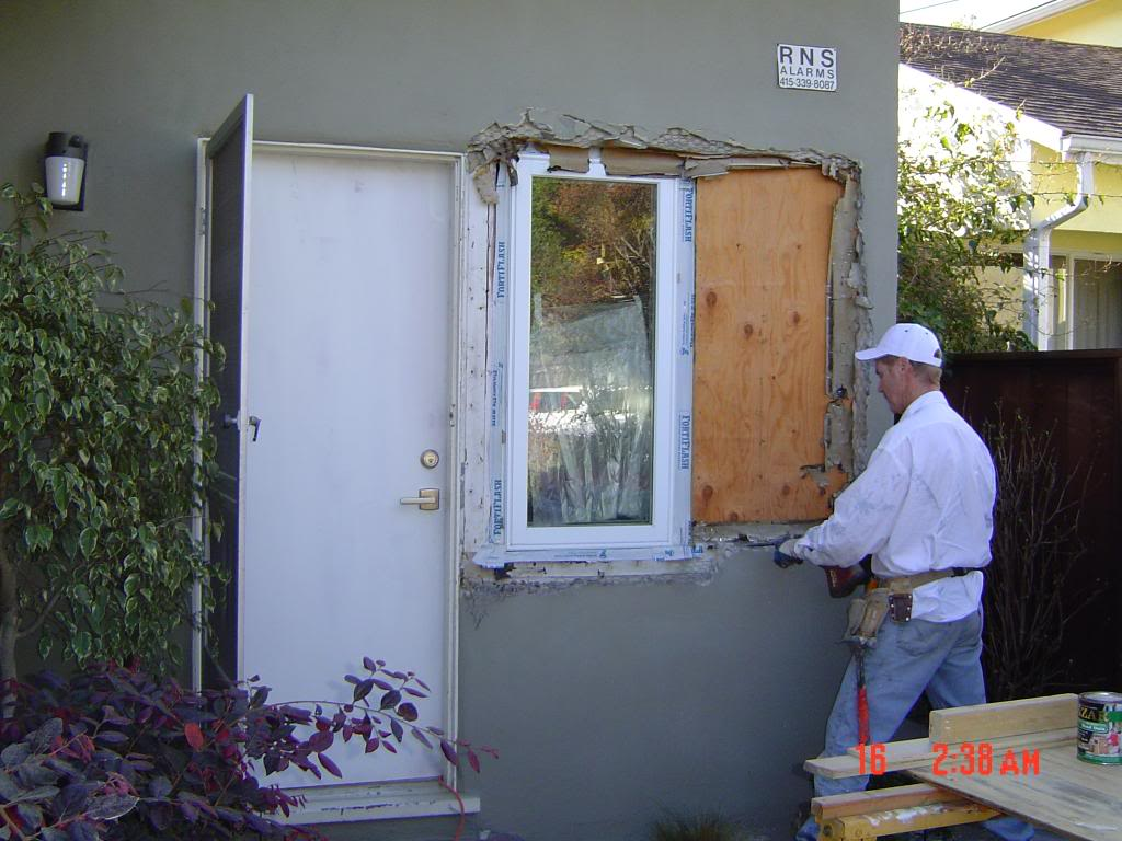 How To Patch Stucco Around A Window Round Designs