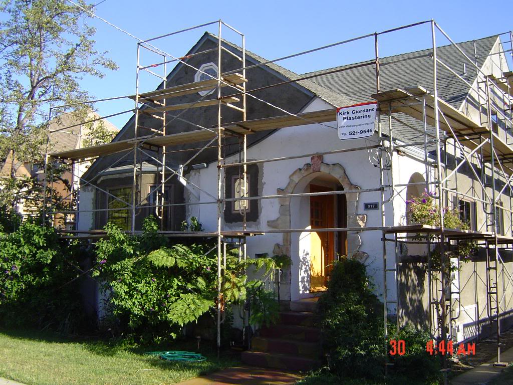Apply New Stucco To Newly Installed Windows And Doors