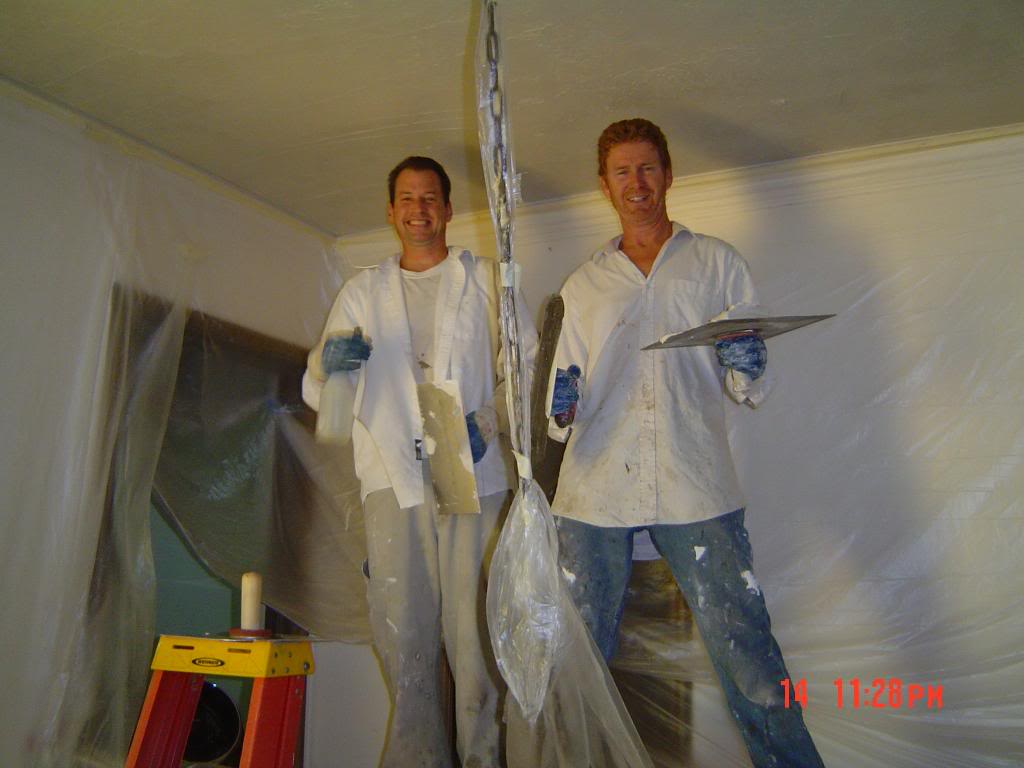 how to clean diamond plaster walls