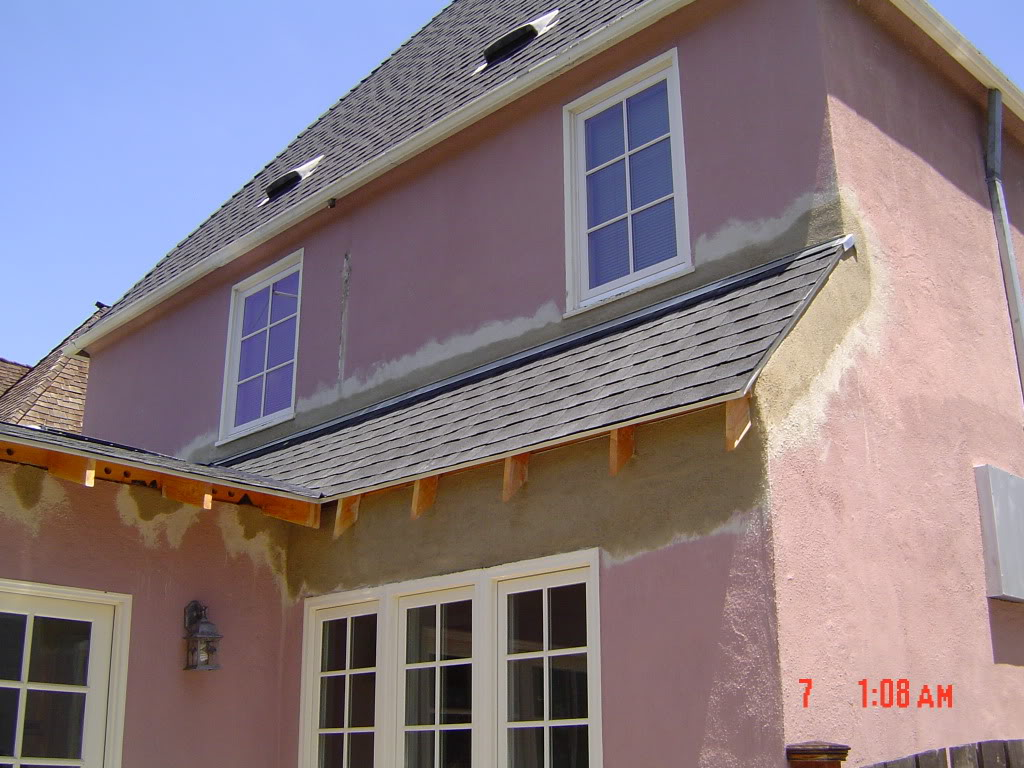 Stucco To Roof Repair Roof To Wall Flashing S