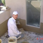 Stucco Deck Repair, repair deck flashings