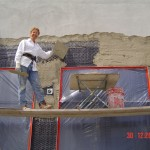 Plastering and stucco Repair